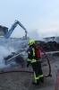 04.05.2021, B2:Gewerbe, brennt Schreddermaterial, Espenhain