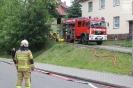 07.06.2021, B2:Wohnung, Ofenbrand in Küche, Regis-Breitingen